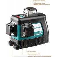 """Нивелир лазерный """"LL-3D-2"""", 360 градусов, 20м / 70м (детектор), сверхъяркий, KRAFTOOL 34640-2, IP54, точн. 0,2 мм/м, держатель, в сумке. Интернет-магазин Vseinet.ru Пенза"""