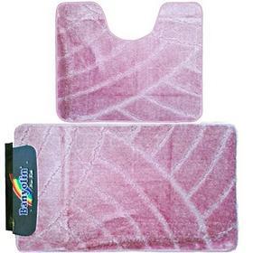 Фото Комплект ковриков для в/к BANYOLIN CLASSIC из 2 шт 60х100/50х60см (пудра). Интернет-магазин Vseinet.ru Пенза