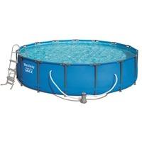 Каркасный бассейн Steel Pro Max (полный комплект) 457*107 см, 14970 л, Bestway 56488 арт.004865. Интернет-магазин Vseinet.ru Пенза