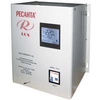 Стабилизатор напряжения Ресанта АСН-8000Н/1-Ц электронный однофазный серый. Интернет-магазин Vseinet.ru Пенза