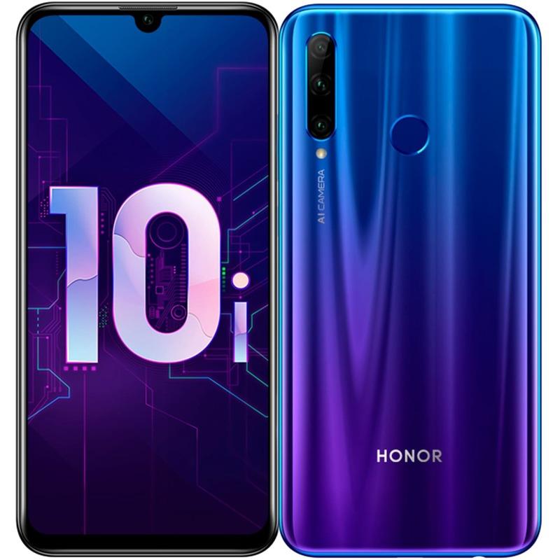 Смартфон HONOR 10i, 4096Мб/128Гб, 2 SIM, синий
