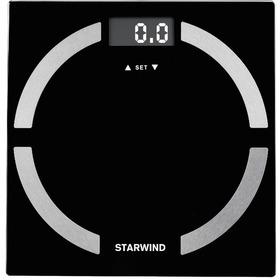 Фото Весы напольные StarWind SSP6051, черные. Интернет-магазин Vseinet.ru Пенза