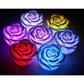Светодиодная свечка «Роза» LL0106R