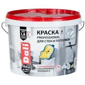 """Фото """"DALI"""" краска для стен и потолков (PROFESSIONAL) база С- 9л. (20163). Интернет-магазин Vseinet.ru Пенза"""