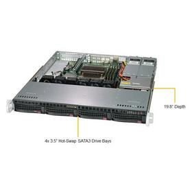 Фото Платформа SuperMicro SYS-5019C-MR C246 1G 2Р 2x400W. Интернет-магазин Vseinet.ru Пенза