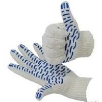 Перчатки REXANT (09-0214) Х/Б с покрытием ПВХ, 6 нитей, (7,5 класс) (12). Интернет-магазин Vseinet.ru Пенза