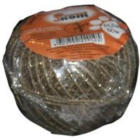 Шпагат упаковочный льняной D1,5 мм,  50м (клубок) (082273). Интернет-магазин Vseinet.ru Пенза