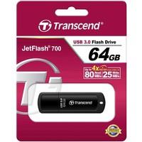 Флешка Transcend JetFlash JetFlash 700 64Гб, USB 3.0, черный (TS64GJF700). Интернет-магазин Vseinet.ru Пенза