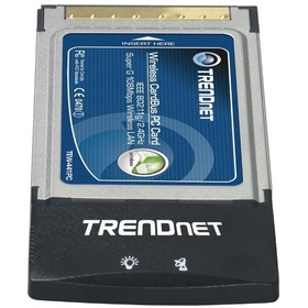 Беспроводной адаптер Trendnet Tew-441pc PC Card 108Mbps 802.11g 32bit