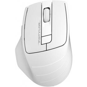 Фото Беспроводная мышь A4Tech FG30, серая с белым. Интернет-магазин Vseinet.ru Пенза
