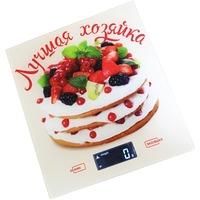 Весы кухонные Василиса ВА-006, белые с рисунком «Лучшая хозяйка». Интернет-магазин Vseinet.ru Пенза