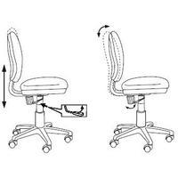 Кресло детское Бюрократ CH-W213/TW-55 голубой TW-55 (пластик белый). Интернет-магазин Vseinet.ru Пенза
