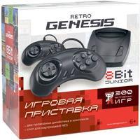 Фото Игровая консоль Retro Genesis Junior черный в компл.: 300 игр. Интернет-магазин Vseinet.ru Пенза