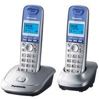 Радиотелефон Panasonic KX-TG2512RUN / 2 трубки / серебристый. Интернет-магазин Vseinet.ru Пенза