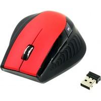Мышь SmartBuy 613AG беспроводная, USB, красная с черным. Интернет-магазин Vseinet.ru Пенза