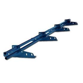 Фото Снегозадержатель трубчатый NewLine 20х40 мм, 3м, 4 опоры, ультра-синий (RAL5002). Интернет-магазин Vseinet.ru Пенза