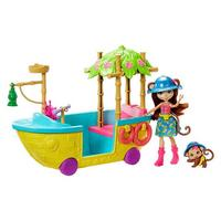 Игровой набор Mattel Enchantimals Джунгли-лодка GFN58. Интернет-магазин Vseinet.ru Пенза