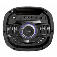Минисистема Hyundai H-MC280 черный 500Вт/FM/USB/BT/SD/MMC/MS. Интернет-магазин Vseinet.ru Пенза
