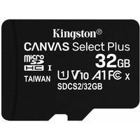 Фото Карта памяти MicroSDHC 32 Gb Kingston class 10 100Mb/s б/ад Canvas Select Plus / SDCS2/32GBSP. Интернет-магазин Vseinet.ru Пенза