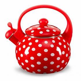 Фото ЕМ-25101/66 Чайник эмалированный со свистком 2,5 л. (6). Интернет-магазин Vseinet.ru Пенза