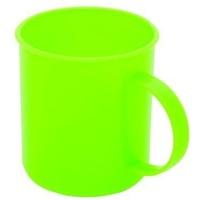 Кружка PLASTIC CENTRE Счастье ПЦ1431 зеленый, 300 мл. Интернет-магазин Vseinet.ru Пенза
