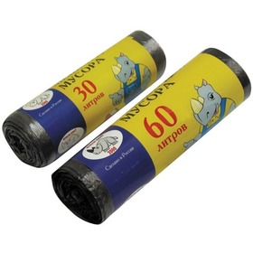 Мешки для мусора РУЛОН 30л (30шт/упак) Мульти-Пласт 2000