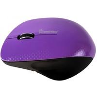 Мышь SmartBuy 309AG беспроводная, USB, фиолетовая с черным. Интернет-магазин Vseinet.ru Пенза