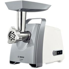 Мясорубка электрическая Bosch MFW45020 / 500 Вт / белый с серым
