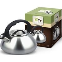 Чайник, нержавеющая сталь TECO TC-101 , 3,0 л , серебристый , со свистком. Интернет-магазин Vseinet.ru Пенза