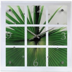 Часы Hama Palm Leaf зеленые