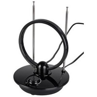 Антенна Hama H-121650 комнатная активная TV/FM/DVB-T 36 дБ 30 - 950 МГц черный. Интернет-магазин Vseinet.ru Пенза