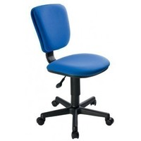 Кресло без подлокотников Бюрократ Ch-204NX 26-21 синий 26-21. Интернет-магазин Vseinet.ru Пенза