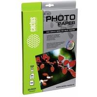 Фотобумага Cactus CS-GA420050 глянцевая А4 200 г/м2 50 листов. Интернет-магазин Vseinet.ru Пенза