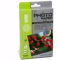 Фотобумага Cactus CS-GA620050 глянцевая 10x15 200 г/м2 50 листов. Интернет-магазин Vseinet.ru Пенза