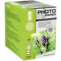 Фотобумага Cactus CS-GA6200500 глянцевая 10x15 200 г/м2 500 листов.. Интернет-магазин Vseinet.ru Пенза