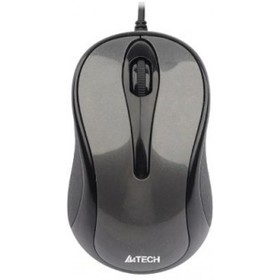 Мышь A4Tech N-360 проводная, USB, серая