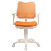 Кресло Бюрократ Ch-W797 OR TW-96-1 белый пластик спинка оранжевая сетка сиденье оранжевый TW-96-1. Интернет-магазин Vseinet.ru Пенза
