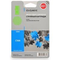 Картридж Cactus CS-CLI451C для Canon MG 6340/5440 IP7240 голубой. Интернет-магазин Vseinet.ru Пенза