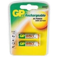 Аккумулятор AAA GP 85AAAHC, Ni-MH, 850 mAh, 1.2 V (в упаковке 2 шт., цена за 1 шт.). Интернет-магазин Vseinet.ru Пенза