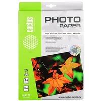 Фотобумага Cactus CS-MA4190100 A4/190г/м2/100л. матовая для струйной печати. Интернет-магазин Vseinet.ru Пенза