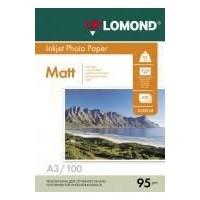 Бумага Lomond 0102129 A3/95г/м2/100л. матовая для струйной печати 720/1440dpi. Интернет-магазин Vseinet.ru Пенза