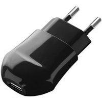 Сетевое зарядное устройство Deppa 23123, 5В, черное. Интернет-магазин Vseinet.ru Пенза