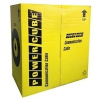 Кабель Power Cube FTP PC-FPC-5004E-SO кат.5e Fluke МЕДЬ однож. 4х2х0.52 мм, экран, 305 м pullbox, серый (FLUKE TEST). Интернет-магазин Vseinet.ru Пенза