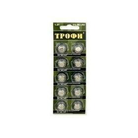 Батарейки ТРОФИ G10 (389) LR1130, LR54 (10/200)