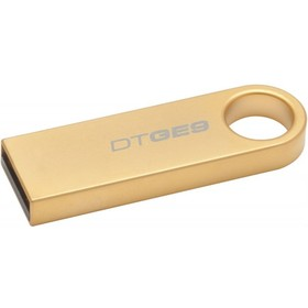 Флешка Kingston DataTraveler DTGE9 8 Гб,  USB 2.0, золотистая (DTGE9/8GB )
