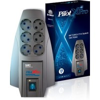 Сетевой фильтр Pilot X-Pro 3м (6 розеток) серый. Интернет-магазин Vseinet.ru Пенза