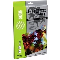 Фотобумага Cactus CS-GA415050 глянцевая А4 150 г/м2 50 листов. Интернет-магазин Vseinet.ru Пенза