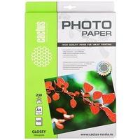Фотобумага Cactus CS-GA4230100 глянцевая А4 230 г/м2 100 листов. Интернет-магазин Vseinet.ru Пенза