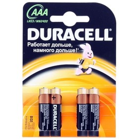 Батарея Duracell LR03-4BL Basic AAA 4шт