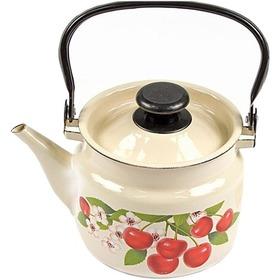 """Чайник, эмалированный """"КМК"""" ОАО 42704-102 , 2,0 л , слоновая кость"""